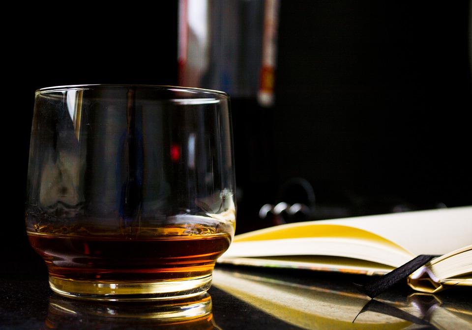 Un verre à whisky