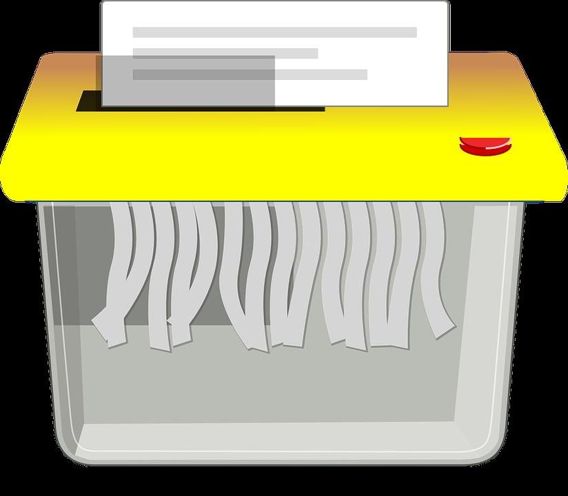destructeur des documents