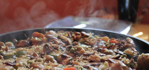 poêle à paella